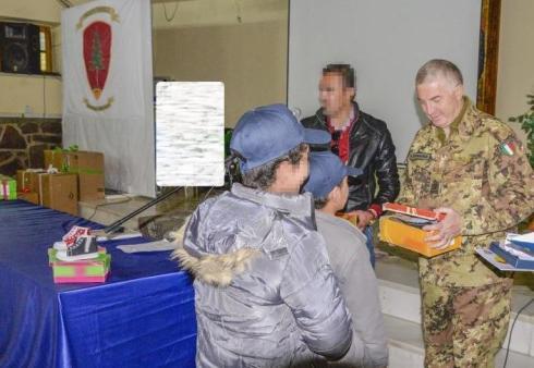 Foto 4 - momenti della donazione