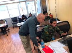 Il Dott. Massimiliano Del Nista durante una lezione