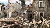 Rimozione macerie nelle aree del sisma del centro Italia