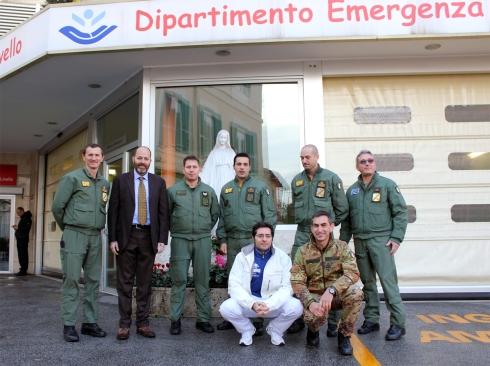 delegazione aeronautica militare al bambino gesù