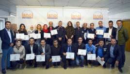 foto 1 - missione in iraq - frequentatori di corso con diploma finale