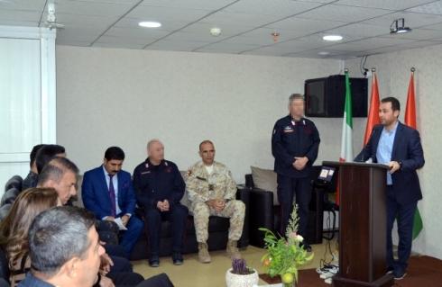 foto 4 - missione in iraq - momento di cerimonia di fine corso