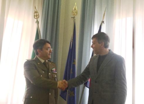 il Direttore dell'Ospedale Militare di Milano e il Direttore Generale della Città della Salute e della Scienza