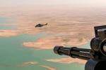 2. Missione in Iraq, volo tattico sull'area della diga diMosul