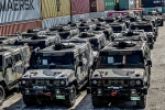 UNIFIL_Afflusso e deflusso mezzi blindati da e per lamadrepatria(3)
