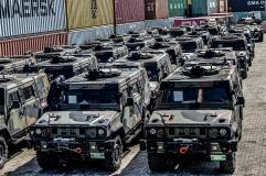 UNIFIL_Afflusso e deflusso mezzi blindati da e per la madrepatria(3)
