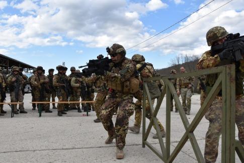 1 Addestramento al combattimento in aree ristrette