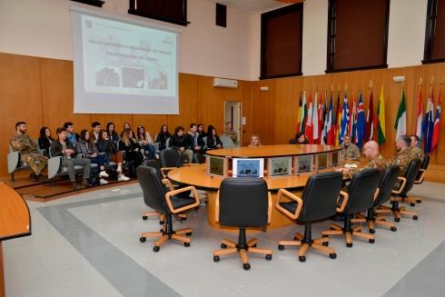 Briefing Gen. b. Manlio Scopigno