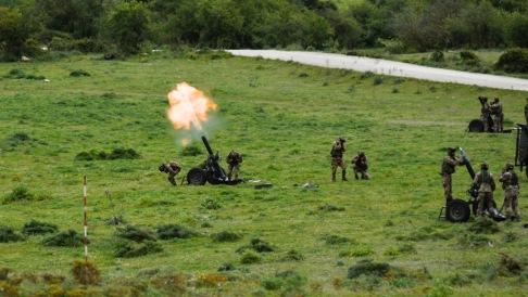 8. Tiri con mortaio da 120mm Thomson