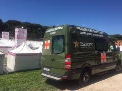 ambulanza del Policlinico Militare di Roma