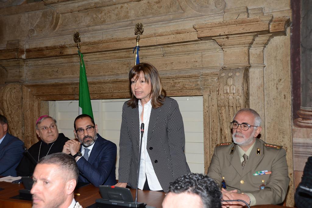 Foto n. 2 Intervento Senatrice Avv. Donatella TESEI