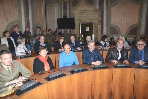 Foto n. 4 La sala consiliare di Palazzo Spada
