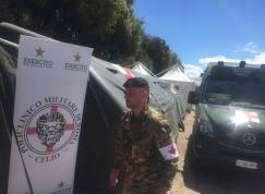 Posto medico avanzato del Policlinico Militare di Roma