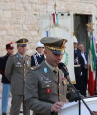 1.Allocuzione del Comandante di Reggimento Col Antonio Morganella