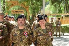 Militari del contingente italiano a Kabul