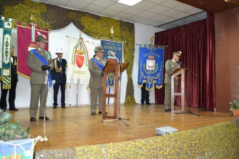 FOTO 2 da dx Gen.B. Vitale, Col. Iovinelli e Gen.B. Di Giovanni