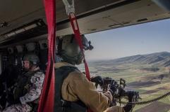 Iraq UH90 in attività di trasporto personale