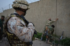 L'addestramento delle forze irachene