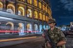 Operazione Strade Sicure la vigilanza presso ilColosseo