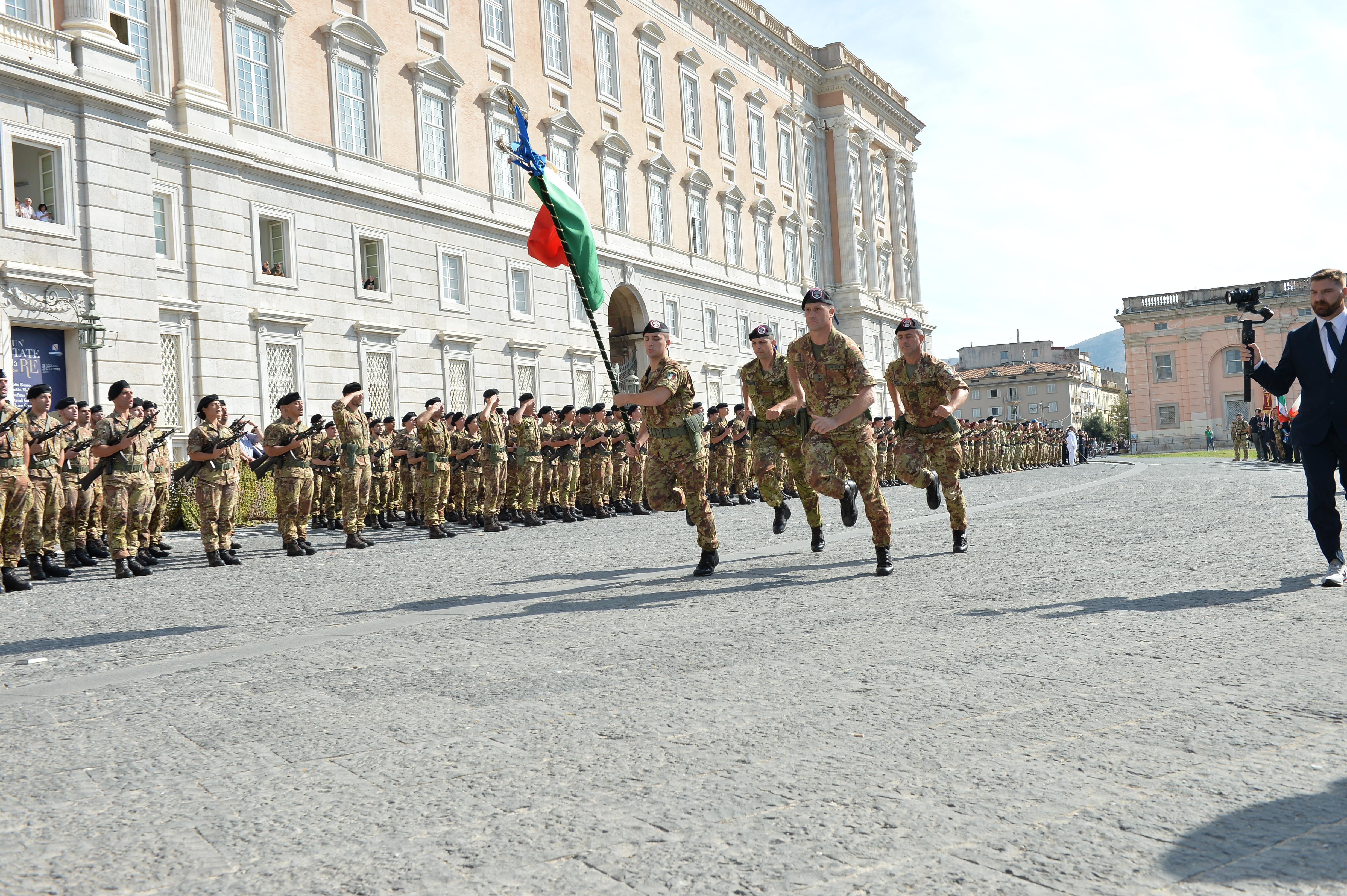 Bandiera di Guerra del 1° Reggimento Bersaglieri