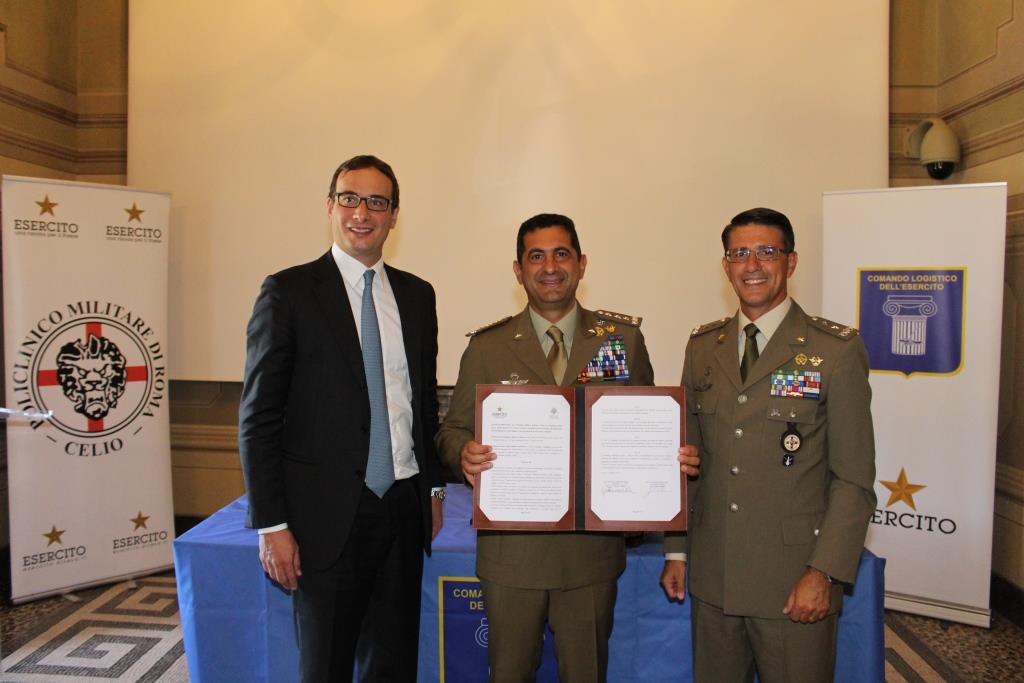 Direttore Generale Fondazione Santa Lucia_Comandante Logistico Esercito_Direttore Policlinico Militare Celio