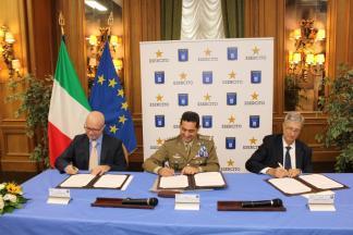 firma dell'accordo di collaborazione