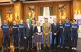 Foto di gruppo_con i campioni del Centro Sportivo Olimpico dell'Esercito