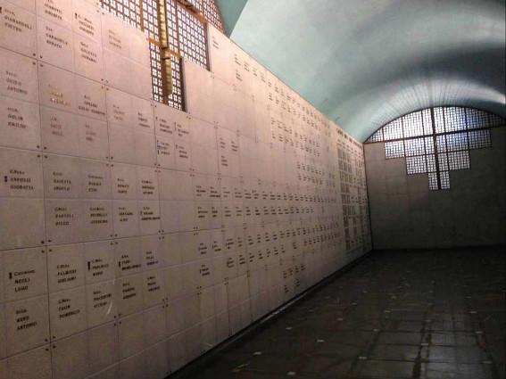 cripta del Tempio di Cargnacco