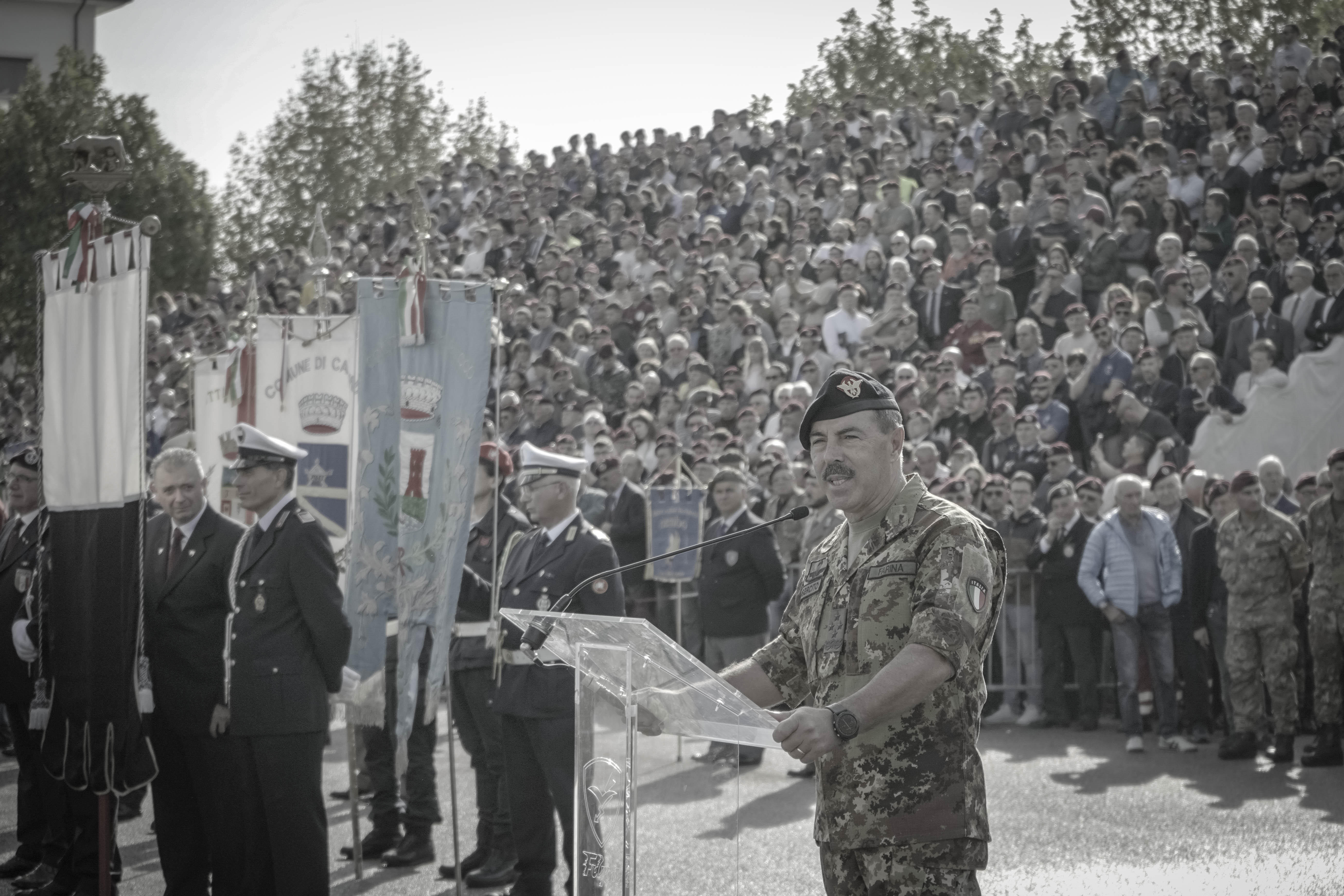 discorso del Gen Farina