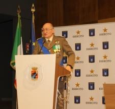 Il capo del Corpo degli Ingegneri Ten. Gen. Giovannini