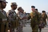 Il Generale Vecciarelli Saluta il personale dell'Esercito del Qatar