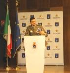 intervento del Comandante Logistico dell'Esercito