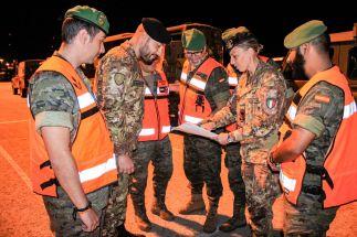 Esercitazione Toro 2019 Briefing pre-movimento per trasferimento mezzi con personale Esercito di tierra_9