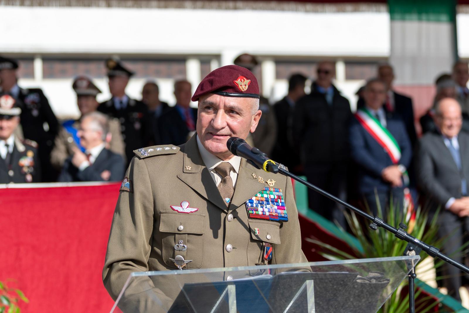 Intervento del Generale Rosario Castellano