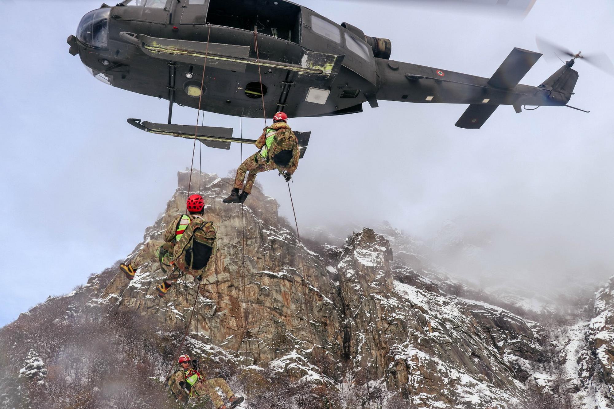 10 Squadre di soccorso alpino