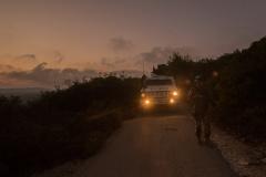 La Blue Line impegno primario dei peacekeeper italiani si pattuglia anche la noote di Natale