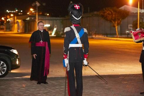 l'Arcivescovo Joseph Spiteri, Nunzio Apostolico della Santa Sede in Libano