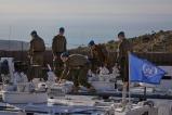 03_Missione in Libano_fase di familiarizzazione con mezzi blindati finlandesi G-wagen PASI