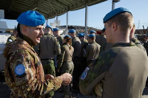 06_Missione in Libano_ comandanti di unità si confrontano