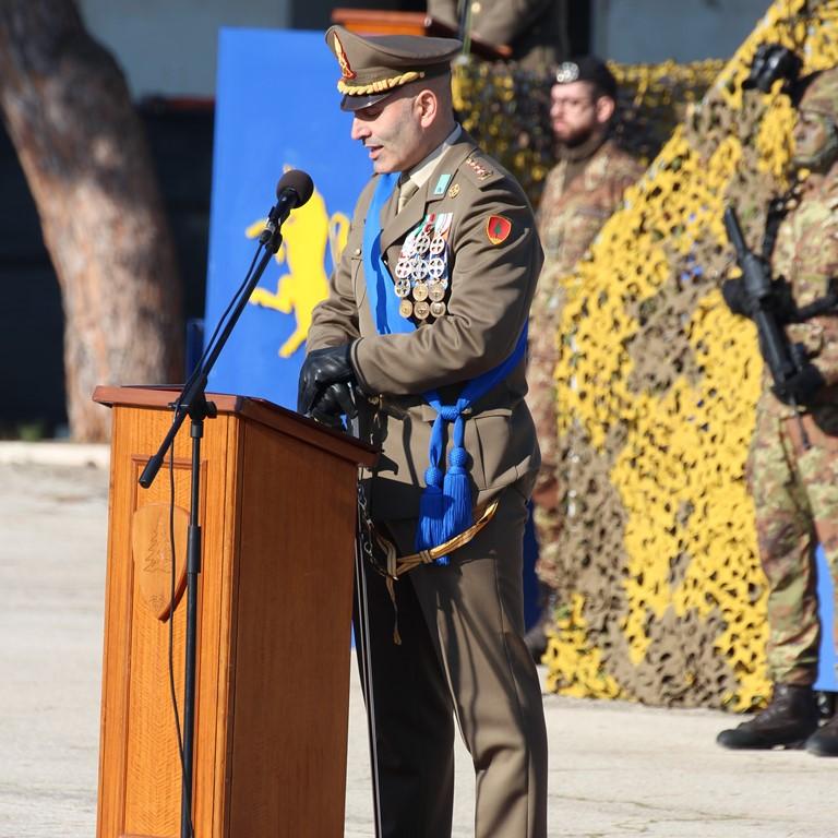 Allocuzione Comandante 82° Rgt F. Torino