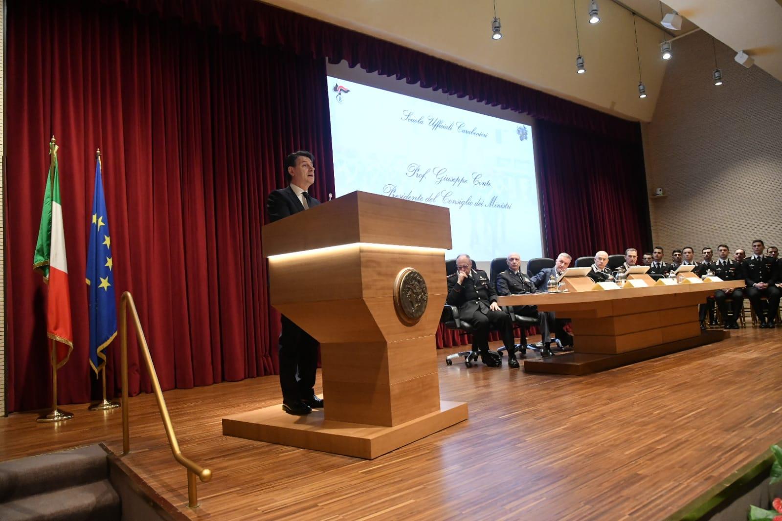 Inaugurazione anno accademico - Giuseppe Conte