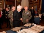 Visita alla biblioteca militare dell'Esercito