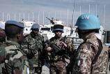 1- fase di coordinamento tra militari italiani e ganesi