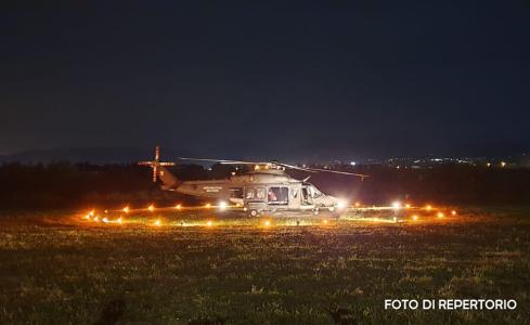 Elicottero piazzola_foto di repertorio