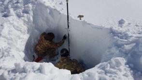 Analisi degli strati di neve