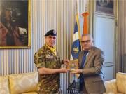 1. Col. Ingala con Prefetto di Torino Claudio Palomba