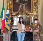 2. Col. Ingala con Sindaca di Torino ChiaraAppendino