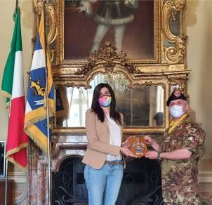 2. Col. Ingala con Sindaca di Torino Chiara Appendino