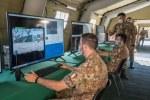 4. Operatori del Reparto Sicurezza Cibernetica durante l'esercitazione