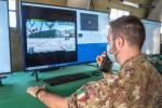 5. Operatore del Reparto Sicurezza Cibernetica durante l'esercitazione